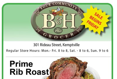 B&H Your Community Grocer Flyer November 15 to 21