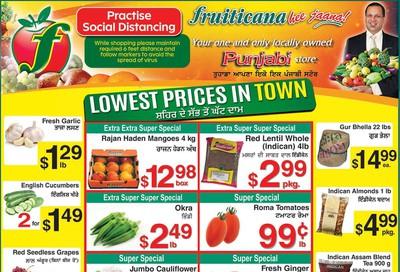 Fruiticana (Calgary) Flyer July 3 to 9