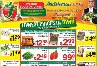 Fruiticana (Edmonton) Flyer July 3 to 9