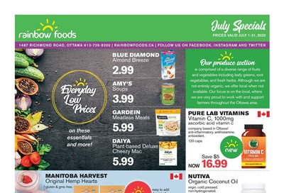 Rainbow Foods Flyer July 1 to 31