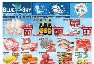 Blue Sky Supermarket (Pickering) Flyer November 15 to 21