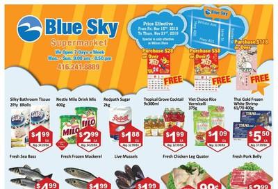 Blue Sky Supermarket (North York) Flyer November 15 to 21