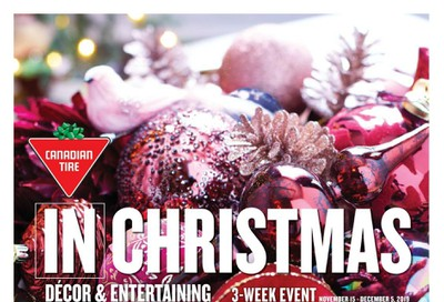 Canadian Tire Christmas Flyer November 15 to December 5