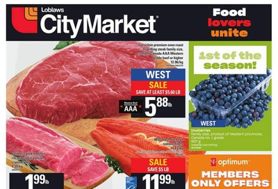 Loblaws City Market (West) Flyer July 9 to 15