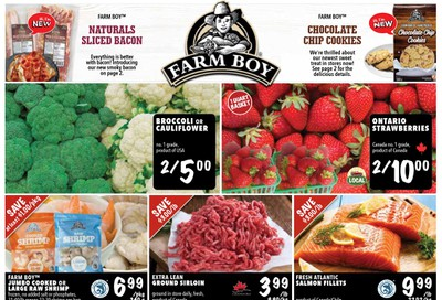 Farm Boy (Brantford, Burlington, Hamilton, London, Kitchener, Oakville, Ottawa, Pickering, St. Catharines, Toronto and Whitby) Flyer July 9 to 15