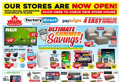 Factory Direct Flyer July 8 to 15