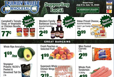 Bulkley Valley Wholesale Flyer July 8 to 14