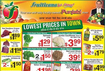 Fruiticana (Edmonton) Flyer November 15 to 20