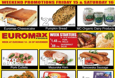 EuroMax Foods Flyer November 14 to 20