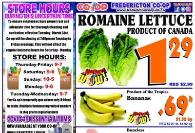Fredericton Co-op Flyer July 9 to 15