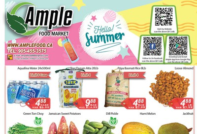 Ample Food Market Flyer July 10 to 16