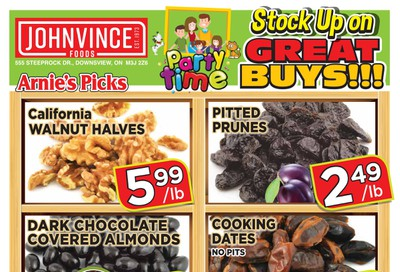 Johnvince Foods Flyer November 9 to 22
