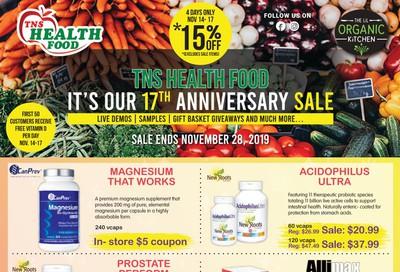 TNS Health Food Flyer November 14 to 28