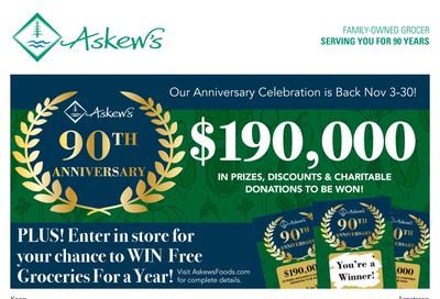 Askews Foods Flyer November 17 to 23