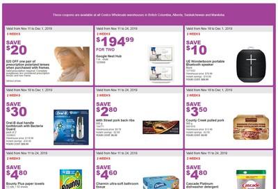Costco (BC, AB, SK and MB) Weekly Savings November 18 to 24