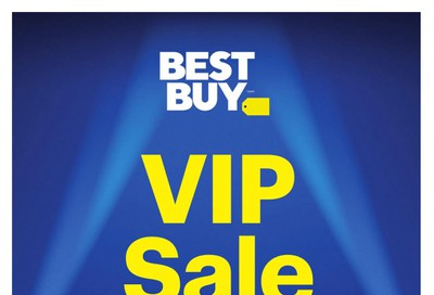 Best Buy VIP Sale Early Black Friday Deals Flyer November 18 to 21