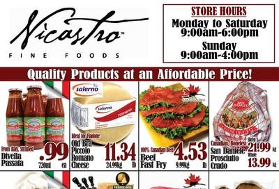 Nicastro Fine Foods Flyer November 18 to December 1