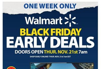 Walmart Early Black Friday Deals Flyer November 21 to 27