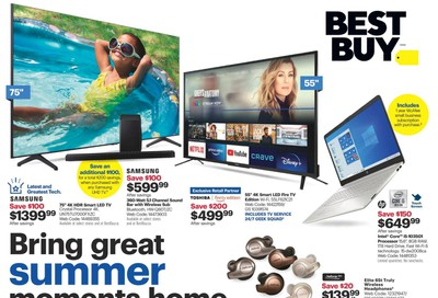 Best Buy Flyer July 10 to 16