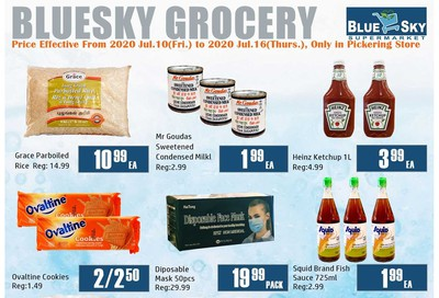 Blue Sky Supermarket (Pickering) Flyer July 10 to 16