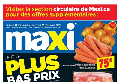 Maxi Flyer November 21 to 27