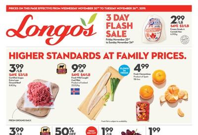 Longo's Flyer November 20 to 26