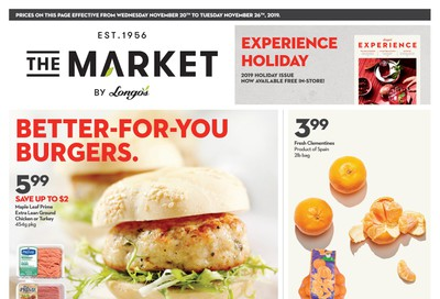 The Market by Longo's Flyer November 20 to 26