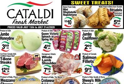 Cataldi Fresh Market Flyer July 15 to 21