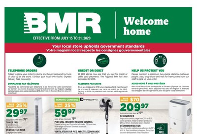 BMR Flyer July 15 to 21