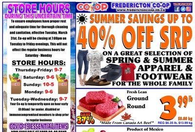 Fredericton Co-op Flyer July 16 to 22