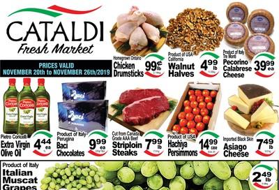 Cataldi Fresh Market Flyer November 20 to 26