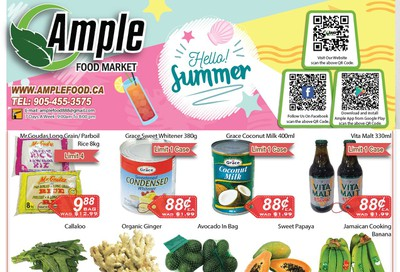 Ample Food Market Flyer July 17 to 23