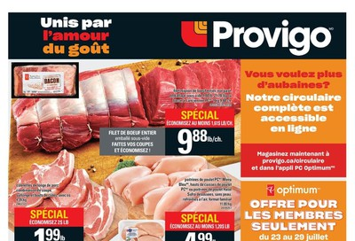 Provigo Flyer July 23 to 29