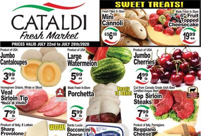 Cataldi Fresh Market Flyer July 22 to 28