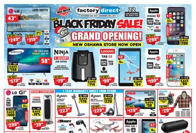 Factory Direct Flyer November 20 to 27