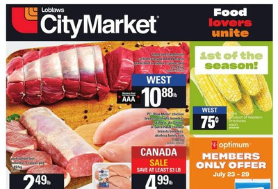 Loblaws City Market (West) Flyer July 23 to 29