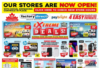 Factory Direct Flyer July 22 to 29