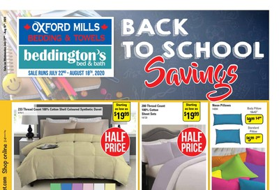 Beddington's Flyer July 22 to August 18