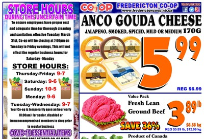 Fredericton Co-op Flyer July 23 to 29