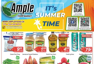 Ample Food Market Flyer July 24 to 30