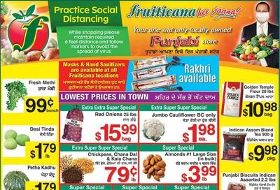 Fruiticana (Calgary) Flyer July 24 to 30