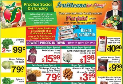 Fruiticana (Edmonton) Flyer July 24 to 30