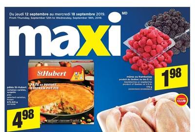 Maxi & Cie Flyer September 12 to 18