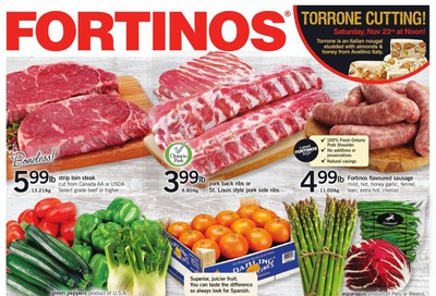 Fortinos Flyer November 21 to 27