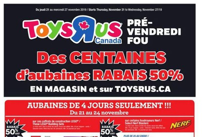 Toys R Us (QC) Flyer November 21 to 27