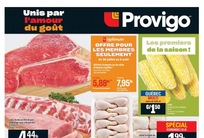 Provigo Flyer July 30 to August 5