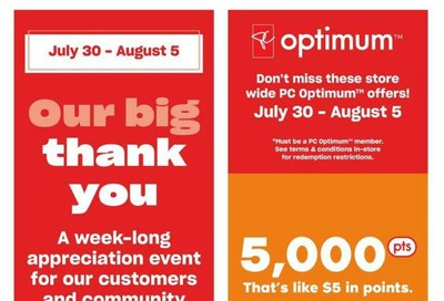 Loblaws City Market (West) Flyer July 30 to August 5