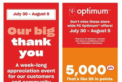 Loblaws (ON) Flyer July 30 to August 5