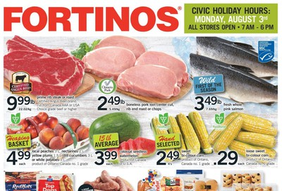 Fortinos Flyer July 30 to August 5