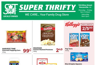 Super Thrifty (Rocanville, SK) Flyer July 27 to August 1
